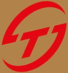 TS Logo rot gold weiss